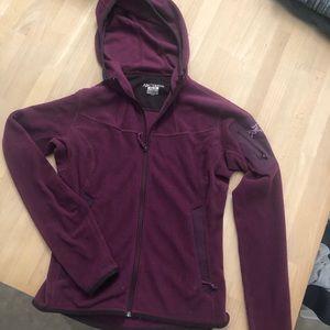 Arcteryx polartec hoodie